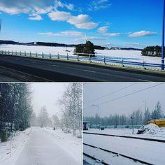Kevään seurakuntakierros 2 - lähtö kotoa Kuopiosta