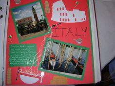 Disney World-Epcot Italy - Scrapbook.com