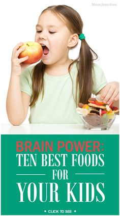 Brain Power Foods for Kids: we've put down the 10 best kids brain development foods.