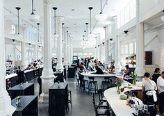 This spring the St. Roch Market reopened as a beautiful food hall for prepared foods, dry goods, fresh seafood, patio dining, and classic NOLA cocktails.