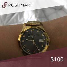 Marc Jacobs Watch Marc Jacobs Gold Watch. In great condition! Marc Jacobs Accessories Watches