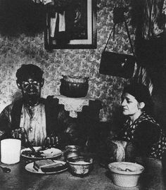 Bill Brandt, Coal Miner at his Evening Meal, Northumberland, 1937