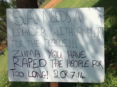 How South Africans feel about President Zuma Africans, Presidents, Feelings