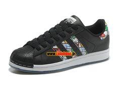 newest 4a4ba 38617 Adidas Originals Superstar - Chaussures Adidas Running Pas Cher Pour Homme  Femme…