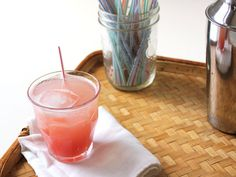 Rhubarb Shrub:   2 pounds #rhubarb, chopped 1/4 inch thick  1 cup white wine vinegar  1 cup granulated sugar
