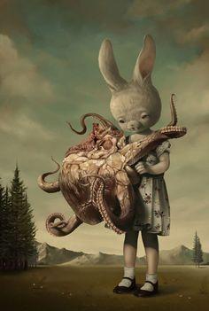 Roby Dwi Antono, lowbrow art, pop surrealism