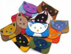 Monederos de gatitos
