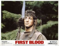 First Blood was the first Sylvester Stallone movie I saw, and I was not disappointed. To this day, First Blood is still my favourite Stallone film. 1980s Films, 80s Movies, Cult Movies, Action Movies, Rambo 3, John Rambo, David Caruso, Sylvester Stallone, Stallone Movies