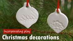 How to make your own clay christmas decorations - Kidspot