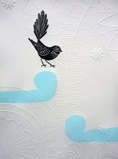 Blue Fantail Hapu love this pretty blue to work for in both boys or girls rooms. Nz Art, Kiwiana, Textiles, Mark Making, Limited Edition Prints, Girl Room, 9 And 10, Printmaking, Annie