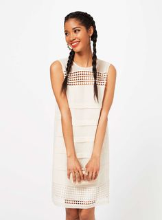 Ivory Tunic Dress - Miss Selfridge