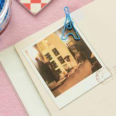 Free style corea del envío papelería clip embotellada marcador de metal clip de papel en Clips de Escuela y Oficina en AliExpress.com | Alibaba Group