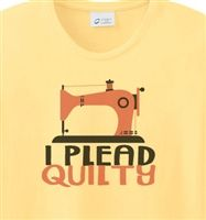 Plead Quilty T-Shirt