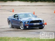 1000hp E85-Powered 2007 Ford Shelby Mustang GT500 #Blue