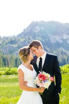Tamara Elise Photography: In the Mountains (Utah Bridal Pictures)