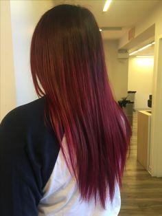 Red Elumen Balayage I did 😍 Elumen Hair Color, Long Hair Styles, Red, Beauty, Long Hairstyle, Long Haircuts, Long Hair Cuts, Beauty Illustration, Long Hairstyles