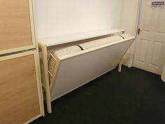 Wall Mounted Hinged Bunk Beds | The Wiskaway 9000 Wall Folding Bunk Bed  Image Via | Wall Mounted Folding Beds | Pinterest | Idéer, Sängar Och Design
