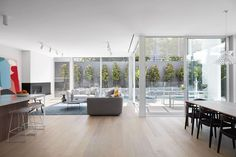 Collis by Webster Architecture & Interiors and SHADES – Video Feature – The Local Project Engineered Timber Flooring, Home Lottery, Underfloor Heating Systems, Stair Nosing, Home Reno, The Locals, Interior Architecture, Melbourne, Shades