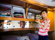 Another Pinner wrote...     RV Organizing, Don't Be a Hot Mess | Gone With The Wynns....for when I go across country in an RV one day