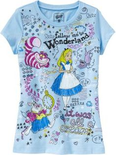 Girls Licensed Character Tees $10.00  at oldnavy.com