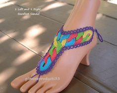 Hippie Festival Barefoot Sandals Foot Jewelry Boho Clothing