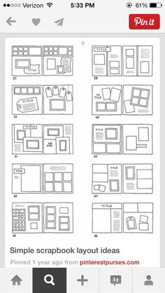 Simple layout ideas