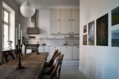 Outstanding One Wall Kitchen Design Picture As Modest Kitchen Kitchen Furniture, Kitchen Interior, Kitchen Design, Cupboard Design, One Wall Kitchen, Kitchen Wood, Kitchen Tips, Room Kitchen, Interior Architecture