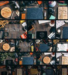 Wood & Bone - Promotional Mockups