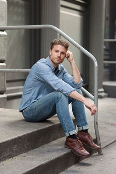 Street Style: An All-American Swede in Levi's and Chambray: The Daily Details: Blog : Details