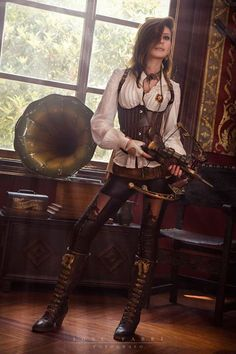 Steampunk vampire slayer