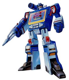 This classic Soundwave illustration looks as awesome today as it did in 1984.