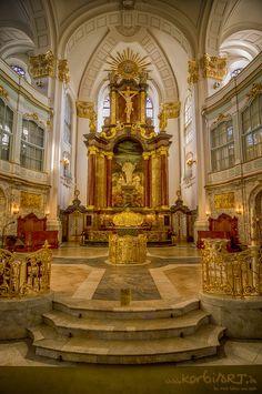 Hamburg - St. Michaelis Church Hamburg Altar ... by Stefan  Korbion, via 500px