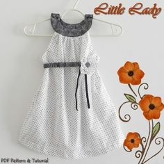 fairytale frocks and lollipops::lily bird studio, little lady dress, e-pattern, downloadable sewing pattern, pdf sewing pattern