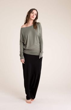 NEW Asymmetric Oversized Party Blouse / Black Tunic / Casual