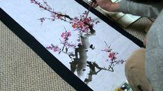 梅の描き方 水墨画家白浪