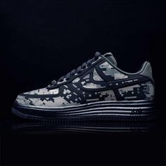Lunar Force 1 Digi – Camo from Nike Sneaker Fever - (Save Fresh Outfits, Buy Shoes, Sock Shoes, Best Brand, Nike Air Force, Fashion Online, Camo, Latest Trends, Fashion Accessories