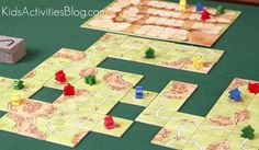 Carcassonne is #6 in Quirky Momma's Top 10 Board Games for Families