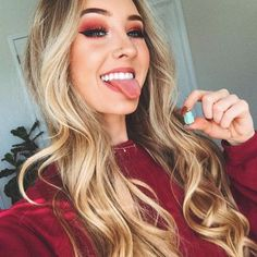 Aspen Mansfield, Balage Hair, Girl Tongue, Imperfection Is Beauty, Most Beautiful Faces, Healthy Hair, Makeup Looks, Hair Color, Hair Beauty