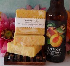 ORANGE GRAPEFRUIT Beer and Coconut Milk Handmade Body soap by SudsNScentsCo on Etsy