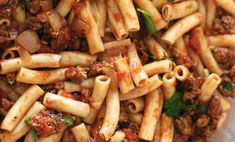 Best Pasta Recipes - Penne Pasta with Meat Sauce - Easy Pasta Recipe Ideas for D.Best Pasta Recipes - Penne Pasta with Meat Sauce - Easy Pasta Recipe Ideas for Dinner Lunch and Party Foods - Healthy and Easy Pastas With Shrimp Beef Chicken Sausage Penne Pasta, Beef Pasta, Turkey Pasta, Chicken Pasta, Healthy Recipe Videos, Healthy Dinner Recipes, Pasta With Meat Sauce, Pastas Recipes, Potato Recipes