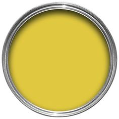 Dulux Feature Wall Matt Emulsion Paint in Lemon Punch will add a bright burst of colour to any boring space.