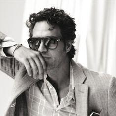 Mark Ruffalo + glasses = For The Win