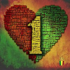 One Love, One Heart, One Unity. Yes Us. JAH WE