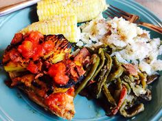 Food Fitness by Paige: Grilled Pineapple and Peach Chicken with Bacon and...