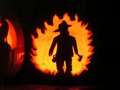 Fireman pumpkin carving