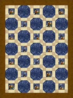 Free Quilt Patterns : Stars Through the Windows Baby Quilt Pattern