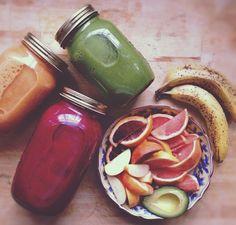 vegan meals orange and avocado