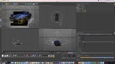 Cinema 4D Tutorial_Rendering_Color Correction Rendering (시네마 4D_컬러를 이용한 렌더링 강좌) - YouTube