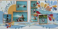 A scraplift of Shamu and His Splash Magic by Allison Davis.