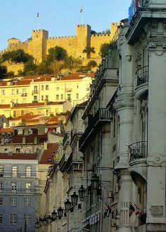 Lisbon, Portugal! I have been to that castle!